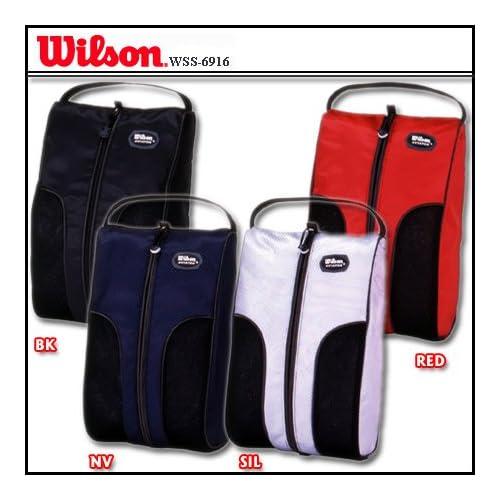 ウイルソン バッグ シューズケース WSS-6916 ブラック [ウェア&シューズ]
