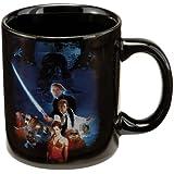 Vandor 99461 Star Wars Return of the Jedi 12 oz Ceramic Mug, Multicolor