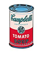 Artopweb Panel Decorativo Warhol Campbell Soup Can 1965 Legno