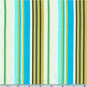45'' Wide Amy Butler Daisy Chain Happy Stripe River By The Yard