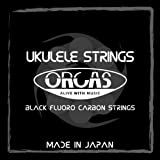 【ORCAS】 ウクレレ弦 OS-MED (オルカス ミディアムゲージ )