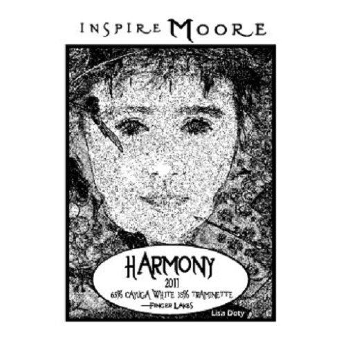 """2011 Inspire Moore """"Harmony"""" Finger Lakes White Blend 750 Ml"""