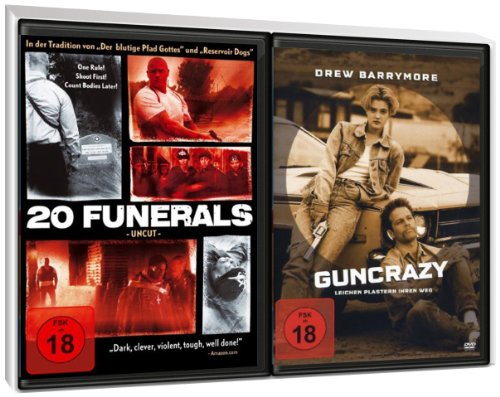 FSK 18 Spar-Set 2 DVDs Action : 20 Funerals + Guncrazy