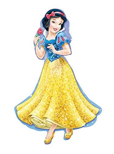 "Disney Princess Snow White 37"" Mylar Foil Balloon Supershape XL- 1 Piece"