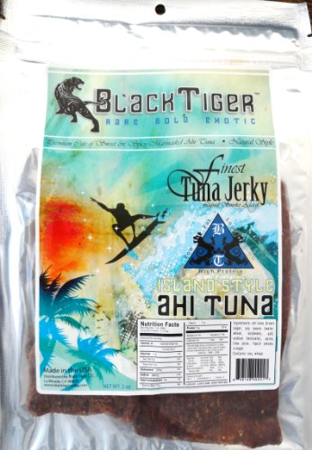 Black Tiger Ahi Tuna Jerky-Island Style