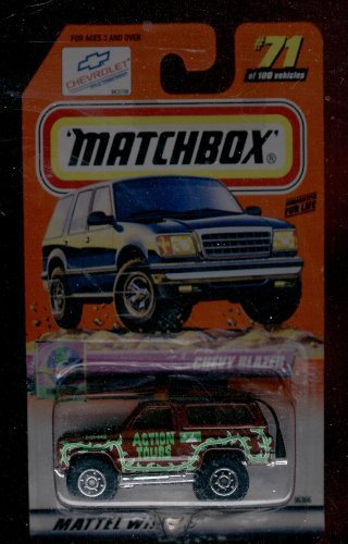 Matchbox 1999-71 of 100 Series 15 on Tour Chevy Blazer 1:64 Scale - 1