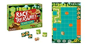 Peaceable Kingdom / Race to the Treasure Cooperative Board Game