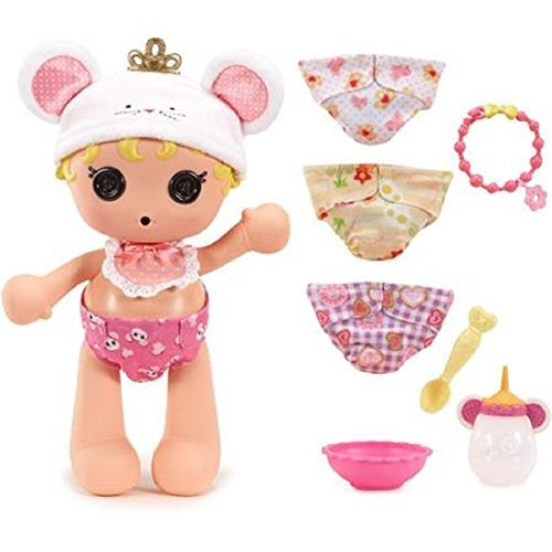 Lalaloopsy Babies Diaper Surprise Doll Set Cinder Slippers