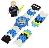 LEGO Kids' 9002892 Star Wars Luke Skywalker Plastic Watch with Link Bracelet and Minifigure