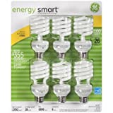 GE 26 Watt Energy Smart CFL - 6 Pack - 100 Watt Replacement