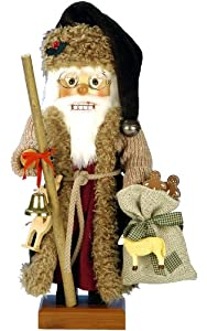 Ulbricht Wildlife Santa Nutcracker