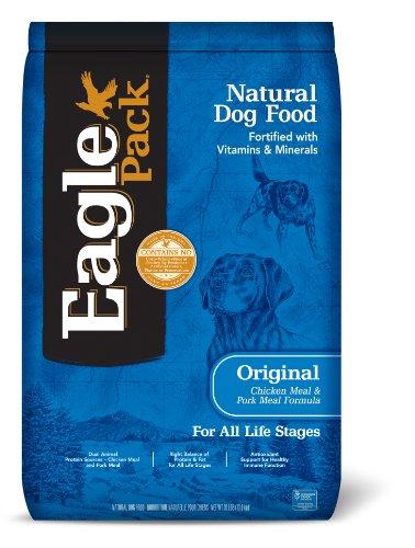 Eagle Pack Natural Dry Dog Food, Chicken & Pork, 30-Pound Bag (Salt Free Dog Food compare prices)
