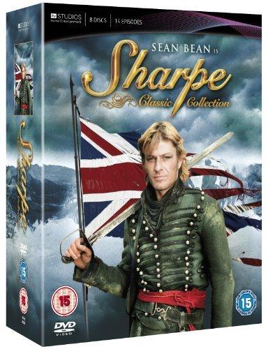 Sharpe - Complete Series (15 Films) - 8-DVD Box Set ( Sharpe's Rifles / Sharpe's Eagle / Sharpe's Company / Sharpe's Enemy / Sharpe's Honour / Sh [ NON-USA FORMAT, PAL, Reg.2 Import - United Kingdom ] (Sharpes Dvd Set compare prices)