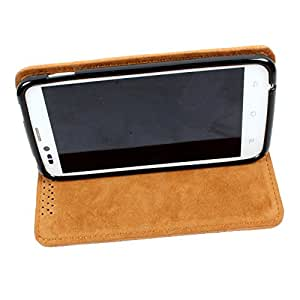 For Nokia Lumia 530 Dual SIM - DooDa Quality PU Leather Flip Case Cover With Smooth inner Velvet To Keep Screen Scratch-Free