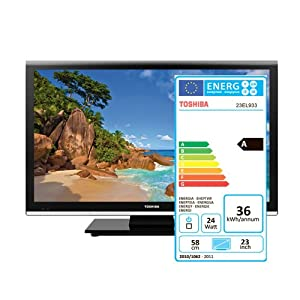 Toshiba 23EL933G - Led Full Hd Ready, Dolby Digital Plus, Decoder Hd (H.264), Usb, 2Xhdmi, Hotel Mode, Clone Mode