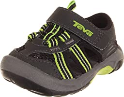 Teva Omnium Water Shoe (Infant/Toddler),Black,4 M US Toddler