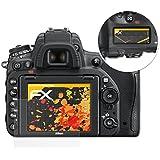 atFoliX Film protection d'écran Nikon D750 Film protecteur Protecteur d'écran - Set de 3 - FX-Antireflex anti-reflet