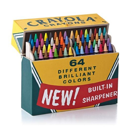 Big Box of 64! Crayola Crayons 2013 Hallmark Ornament