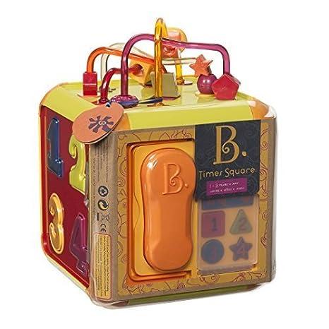 B Times Square Cube Toy by B (English Manual)