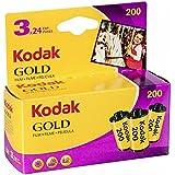 Kodak 6033971 Gold 200 Film (Purple/Yellow)
