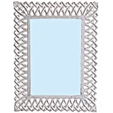 "Decorative Hand Crafted Wooden Wall Mirror By The Kraft International ( 26""x20"" )"