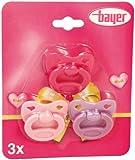 Bayer Design Pacifier Set for Dolls