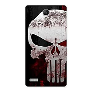 Bleed Red Skull Back Case Cover for Redmi Note 4