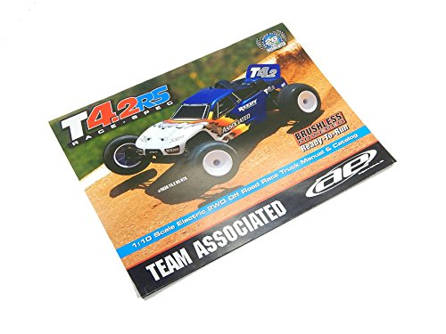 TEAM ASSOCIATED RC10 T42 RS OWNERS MANUAL PARTS LIST