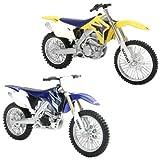 New Ray 67237 R Modellino Moto Dirt Bike + Race