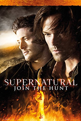 Supernatural \ Fire - Fuoco - 61 x 91,5 cm - Poster/Poster