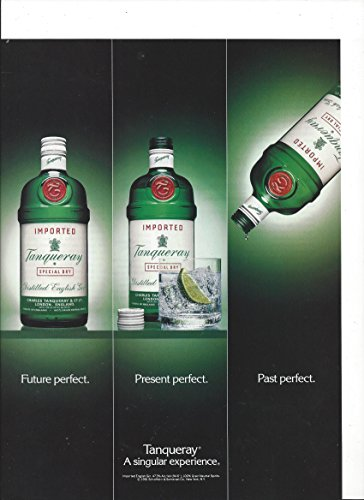 print-ad-for-tanqueray-gin-future-present-past-perfect-1992-print-ad
