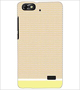 PrintDhaba Pattern D-1522 Back Case Cover for HUAWEI HONOR 4C (Multi-Coloured)