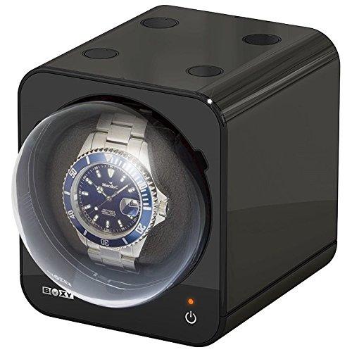 Boxy Fancy Brick black Uhrenbeweger von Beco Technic