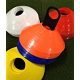 World Sport Multi Color 50 Disc Cone Set with Carrier ~ World Sport