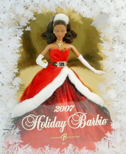 Holiday-Barbie-2007-African-American-by-Mattel