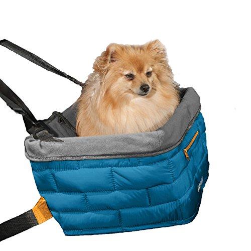 kurgo-loft-dog-booster-seat-blue-grey