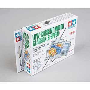 Low Current Motor Gearbox 3 Speed by Tamiya America, Inc