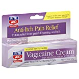 Rite Aid Pharmacy Vagicaine Cream, with Aloe, Maximum Strength, 1 oz (28 g)