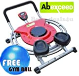 AB EXCEED NEW DESIGN 2013 CIRCLE AB EXERCISER PRO MACHINE WITH FREE GYM BALL