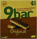 Wholebake 9 Original Hemp Seed Bar 40 g, 4 bars (Pack of 4, 16 bars)