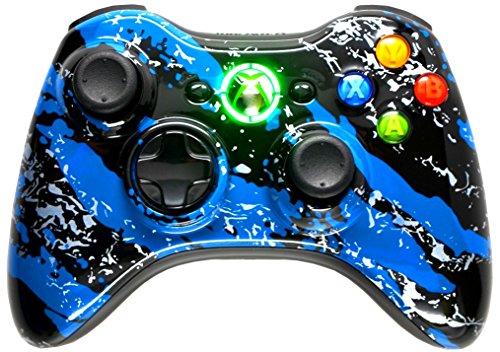BLUE SPLATTER 5000 + Modded Controller Xbox 360
