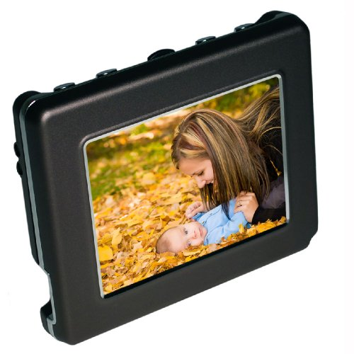 Digital Foci PAD-280 Deluxe OLED 2.8-Inch Pocket Album Digital photo viewer (Charcoal)