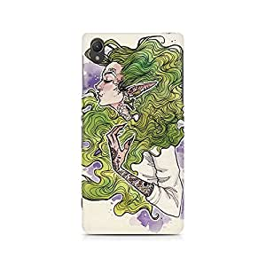 MOBICTURE Girl Art Premium Designer Mobile Back Case Cover For Sony Xperia Z2 L50W