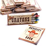Western Activity Sets Pack of 12