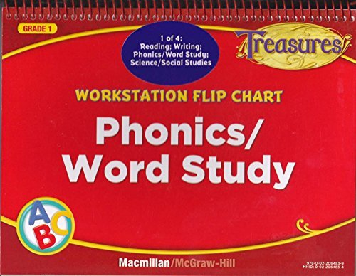 Workstation Flip Chart: Phonics / Word Study Grade 1 (Treasures) (Phonic Flip Chart compare prices)
