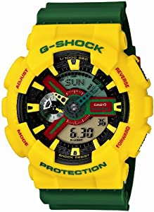 G-SHOCK Rastafarian. GA-110RF-9AJF. Men's watch.