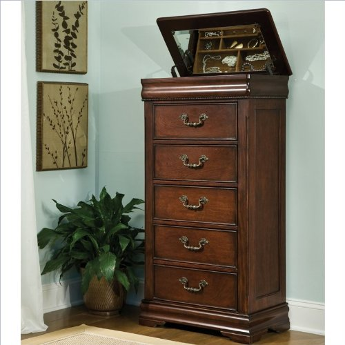 Standard Furniture Westchester Lingerie Chest In Cherry