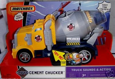 Matchbox Ready for Action Cement Chucker - Buy Matchbox Ready for Action Cement Chucker - Purchase Matchbox Ready for Action Cement Chucker (Matchbox, Toys & Games,Categories,Play Vehicles)