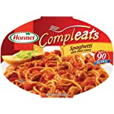 Hormel Compleats Spaghetti with Meat Sauce, 10-Ounce Microwavable Bowls (Pack of 6) ~ Hormel