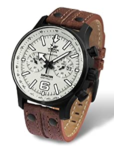 Vostok-Europe Men's 6S32/6564200 Japanese Quartz Movement Watch